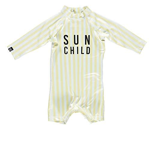 Beach & Bandits - UV-badpak baby's - Sun Child - zwart/wit