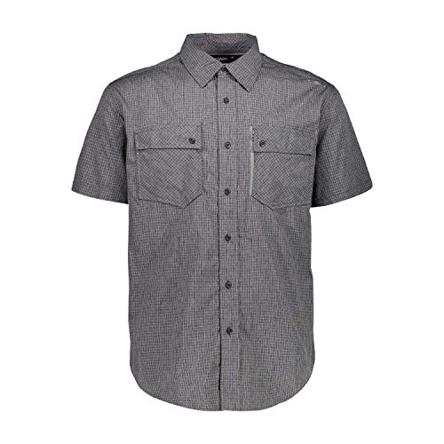 CMP Dry Function Short-Sleeved Shirt Chemise Homme, Anthracite-Cement, 48