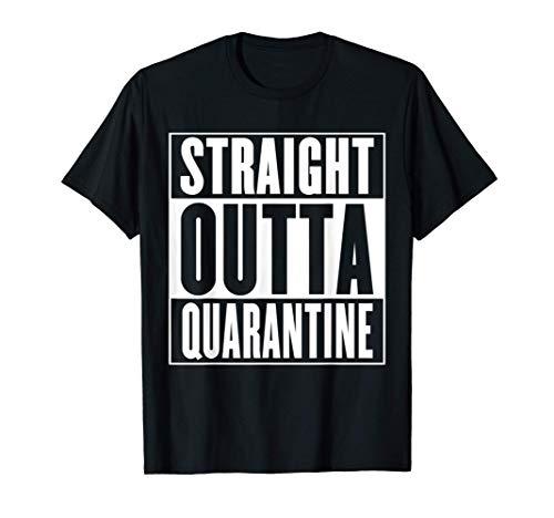 Adult & Kids Straight Outta Quarantine T-Shirt
