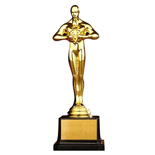 Further Logro de Oro Trofeo de Oro - Pequeño Trofeo al Estilo Oscar para la Entrega de premios y Celebraciones de Fiestas heathly