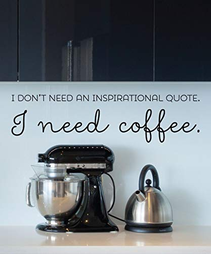 Voorjaarsverkoop Muur citaten Ik heb Koffie Muursticker Keuken Cafeïne Koffie Cup Koffiemachine