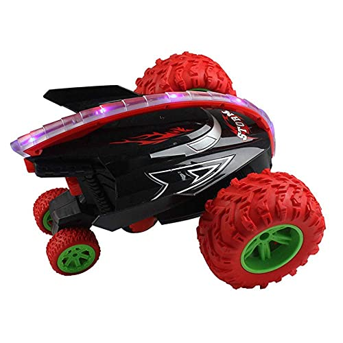 RC Car Remote Control Toy Coche All-Topography Drive de cuatro caras Conducción de dos caras Control remoto Vehic 2.4GHz Omni-direccional 360DEG ;; Rotación Fresco Luz Rolling STUNT DEFORMACIÓN DE DEF