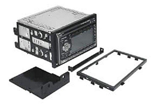 SCOSCHE HA1566B Single/Double DIN Car Stereo Dash Kit for 1990-2002 Acura/Honda Vehicles