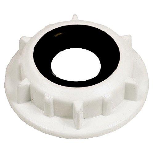 SPARES2GO Externe levering buis buisvergrendeling moer en afdichting voor Proline FDP12648SL, FDP12648WH vaatwassers