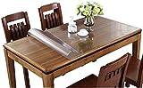 Mantel Antimanchas Mantel para limpiar la parte superior de la mesa 1Mm Protector de mesa transparente Cubiertas de mesa de plástico Mesa de escritorio Mantel de PVC Mesa de centro Mesa de comedor Pr