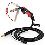 YESWELDER Flexible 100Amp 10ft MIG Welding Gun Torch Stinger, Replacement for...