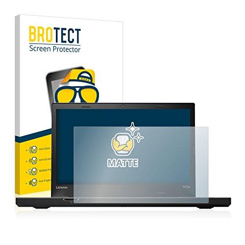 BROTECT Entspiegelungs-Schutzfolie kompatibel mit Lenovo ThinkPad T470p Bildschirmschutz-Folie Matt, Anti-Reflex, Anti-Fingerprint