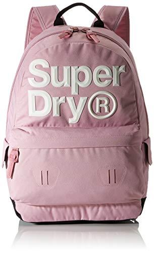 Superdry Damen Edge Montana Rucksackhandtasche, Pink (Soft Pink), 13.5x46x30.5 cm