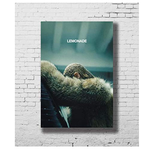 XIANGLL Beyonce Lemonade Visual Album Posters Canvas Painting Wall Art Prints for Home Wall Decor -20X30 Inch No Frame 1 Pcs