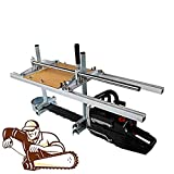 Tengchang Portable Chainsaw Mill Log Planking Milling Lumber Fit 14' - 36' Chain Saw Guide bar