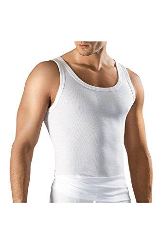 Ceceba Classic Line Feinripp Unterhemden 5er Pack weiß XL