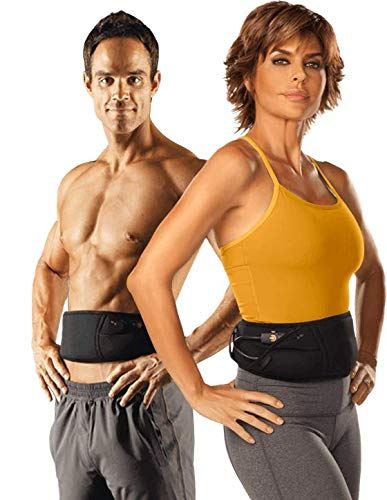 THE FLEX BELT Ab Belt Workout – FDA Cleared to Tone, Firm and Strengthen the Abdominal Muscles