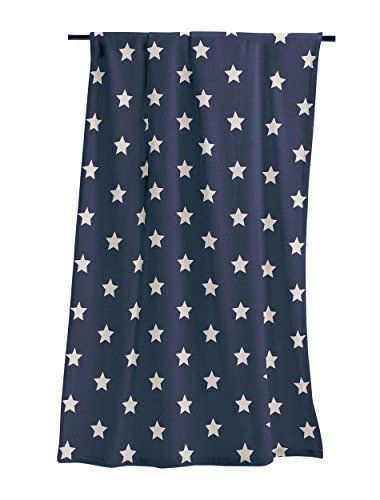 Irisette Wohndecke Sterne Marine 150x200 cm