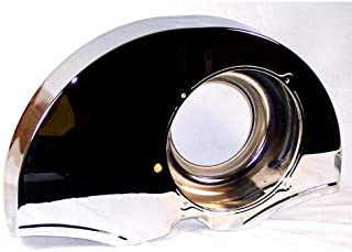 Appletree Automotive 36 Hp Style Fan Shroud, No Ducts, Chrome Compatible with VW & Dune Buggy
