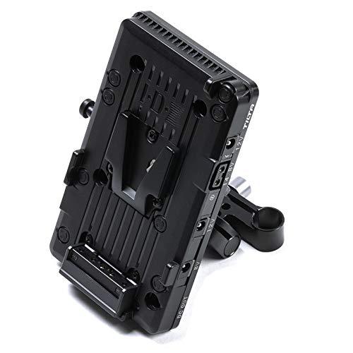 Tilta BT-003-V 15mm LWS Black V-Mount Battery Plate Power Supply System for DSLR and Mirrorless Cameras