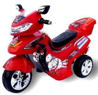 Kinder Elektroauto Motorrad C031 Elektro Kindermotorrad Kinderfahrzeug (rot)