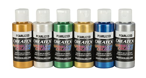 Createx Colors Pearl Airbrush Set