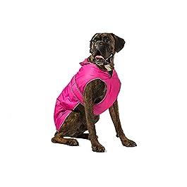 Muddy Paws Stormguard & Fleece Lining Coat Pink