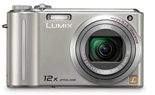 Panasonic Lumix DMC-ZS1 10MP Digital Camera with 12x Wide Angle MEGA Optical Image Stabilized Zoom and 2.7 inch LCD (Silver) (B001QFZMC4) | Amazon price tracker / tracking, Amazon price history charts, Amazon price watches, Amazon price drop alerts