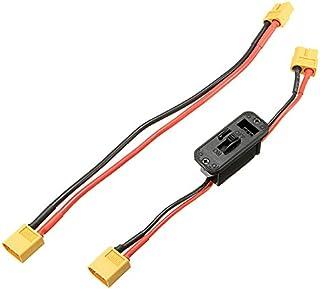 KINGDUO xt60 Axial sur Off Commutateur Connecteur avec Extension Fil Câble pour Rc Lipo Batterie