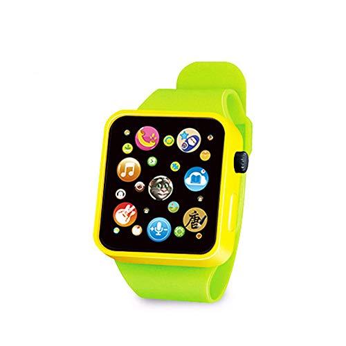 LVYIMAO Spielzeug-Armbanduhr für Kleinkinder, 6 Farben, Kunststoff, Digitaluhr