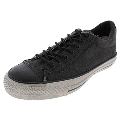 Converse John Varvatos Distressed Canvas Vintage Slip On Sneaker Black