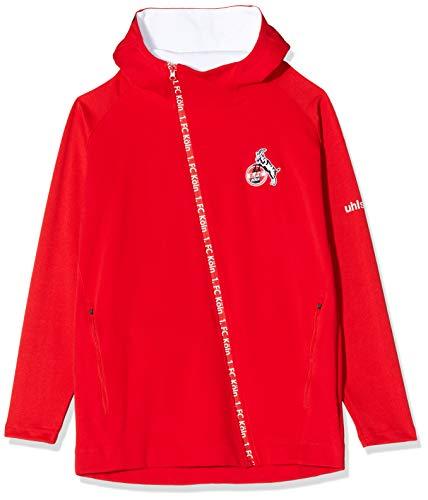 uhlsport Herren 1.FC KÖLN Essential PRO Jacket Fanartikel, Rot, 140