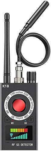 Wanzen Detektor RF Wireless, Wanzendetektor GPS Spy Finder Versteckte Kamera Laser für GSM Tracker Abhörgeräte Funkkameras Wanzenfinder
