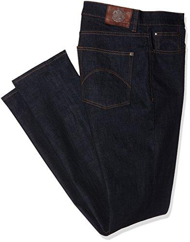 Pretty Green Erwood Slim Fit Jeans, Blue (Rinse Wash), W34/L34 Uomo