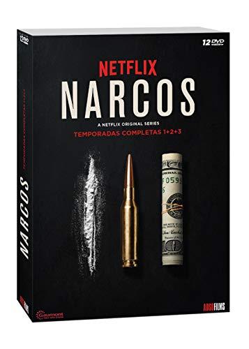 Narcos 1ªT+2ªT+3ªT -DVD