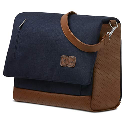 ABC Design Wickeltasche Urban - Crossbody Bag mit Baby Zubehör – Messenger Bag - großes Hauptfach - breiten Schultergurt - Polyester - Farbe: shadow