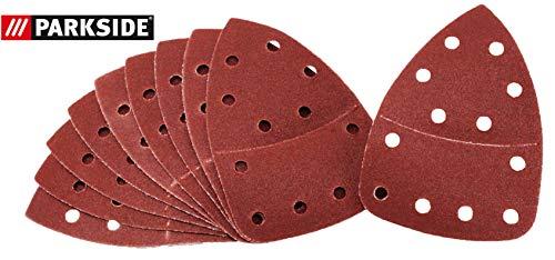 Schleifblätter Holz 10 Stück Körnung 120 für Parkside Handschleifer PHS 160 E5 - LIDL IAN 291795