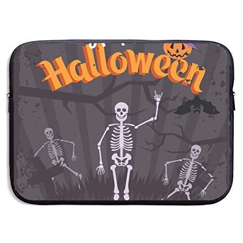 Halloween Party Einladung 13/15 Zoll Laptop Hülle Tasche für MacBook Air 13 15 Pro tragbare Reißverschluss Laptop Tasche Tablet Tasche