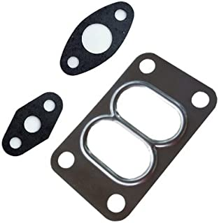 Turbo Gasket Set for Holset HX35 HX35W HX40 HX40W Turbo Divided Flange Oil Inlet Outlet