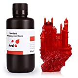 ELEGOO LCD UV 405nm Resina Rapida per Stampante 3D LCD 500g Resina Fotopolimerica Rosso