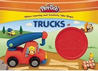 [ Play-Doh Trucks [With 1 Container of Red Play-Doh] BY Kenna, Kara ( Author ) ] { Hardcover } 2014