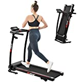 FYC Folding Treadmill for Home Portable Electric Motorized Treadmill Running Exercise Machine Compact Treadmill for Home Gym Fitness Workout Jogging Walking (JK0805E-1)