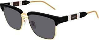 Gucci GG0603S Sunglasses 001 Black/Grey Lens 56MM