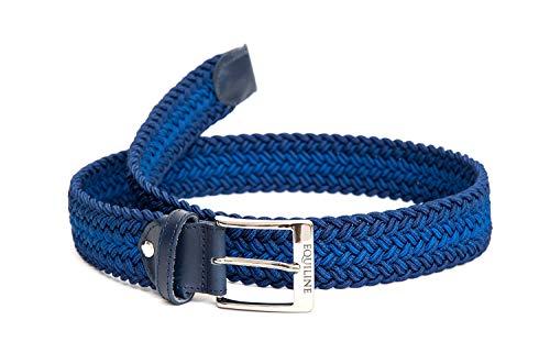 Equiline Xander Elastischer Gürtel Unisex Blau FS 2019, Eq19_FS_Gr.:80