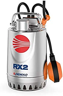 """Submersible Drainage Pump RXm 2 Pedrollo 0.37 kW 0.5 HP 230V 50Hz 1 ph, 1-1/4"""", Made in Italy"""