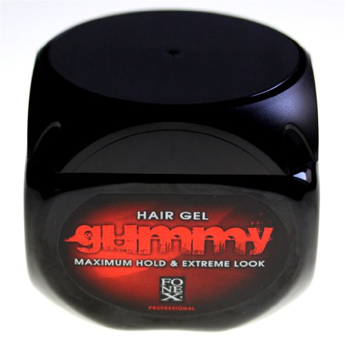 FONEX Gummy Professional Styling Gel maximum Tenez Gel cheveux & Extreme Rechercher 500ml