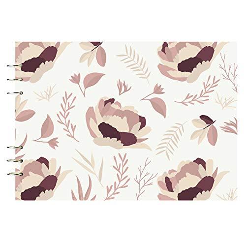 Fesjoy Cuaderno de bocetos de Hojas Sueltas, 50 Hojas de Hojas Sueltas Sketchbook Professional A4 Art Painting Sketch Paper 8.2x11.4 Pulgadas para Dibujar Diario Dibujar bocetos