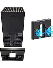 Xbox Series X コンソール用 USB 冷却ファン、xbox series x ファン, デュアル ファンと外部 USB ポートを備えた 冷却システム アクセサリ