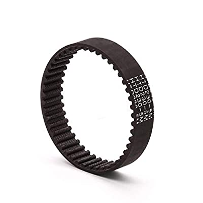 Gfpql WYanHua-Timing Belt HTD-5M Timing Belt Closed Loop Rubber 380 385 390 395 400 405 410 415 420 425 430mm Length, 15mm Width,Synchronous Belts Part, Quality replacement parts