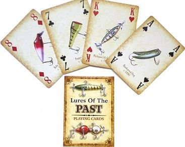 Lures of the Past Playing Cards by River's Edge Products