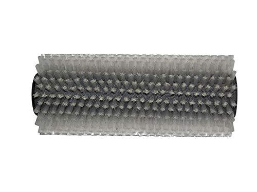 partmax® Bürstenwalze für Lux Uniprof 240, Poly 0,3 mm glatt weiß, Walze, Walzenbürste, Kehrwalze