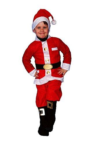 Sandy - Déguisement Enfant Père Noël - 4/6 Ans