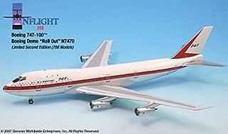 ロールアウトLivery Boeing 747–100Airplane Miniature Model n7470Diecast 1: 200Part # a012-if742001a