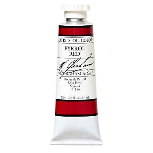 M. Graham & Co. Oil Paint, Pyrrole Red