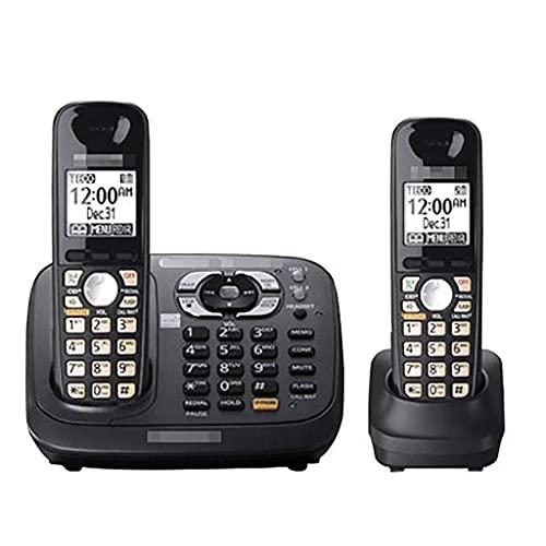 Teléfono inalámbrico Digital DECT Home Desk: Llamada tripartita, Bloqueador de Llamadas molestas, Altavoz Manos Libres, se Puede expandir 6 Auriculares (Color: B)